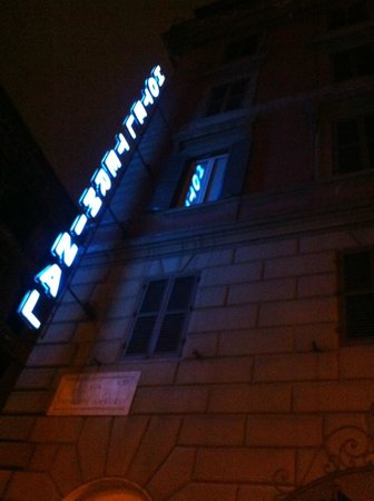 Hotel Terminal: fachada