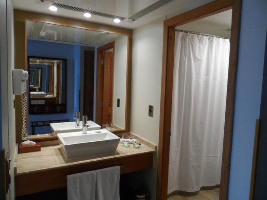Hotel Cumbres Puerto Varas: baño compartimentado