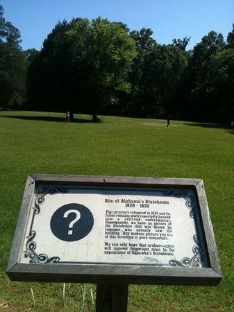 Old Cahawba Archaeological Park: Where the first capital of Alabama was before moving to Tuscaloosa.