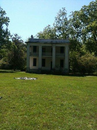 Old Cahawba Archaeological Park: Kirkpatrick slave quarters
