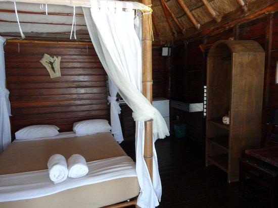 Azucar Hotel: Entrando na cabana