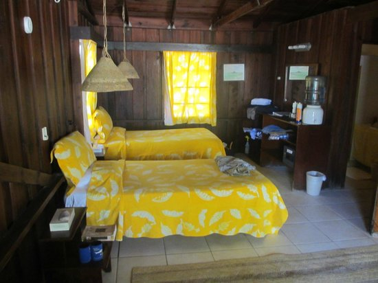 Small Hope Bay Lodge: The room