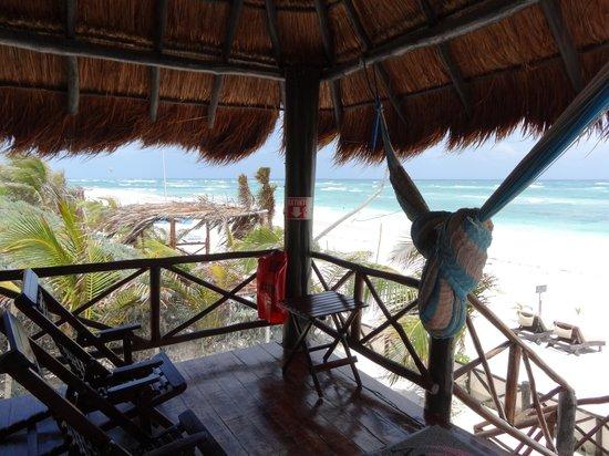 Azucar Hotel: Vista da varanda