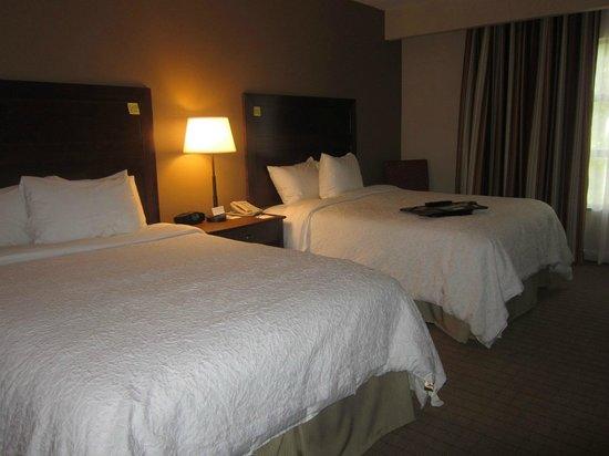 Hampton Inn Columbus/South-Fort Benning: beds