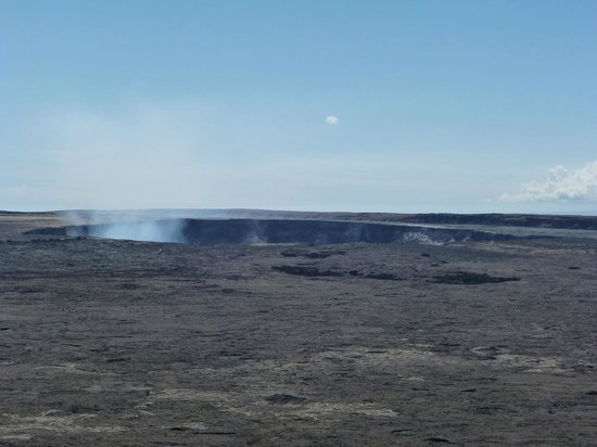 Hawaii Volcanoes National Park: Halema'uma'u Crater