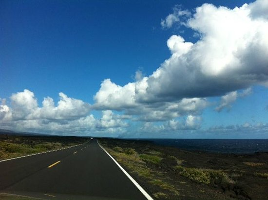 Hawaii Volcanoes National Park: Near the end of the Chain of Craters Road