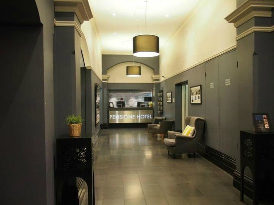 Pensione Hotel Melbourne - by 8Hotels: Hotel lobby