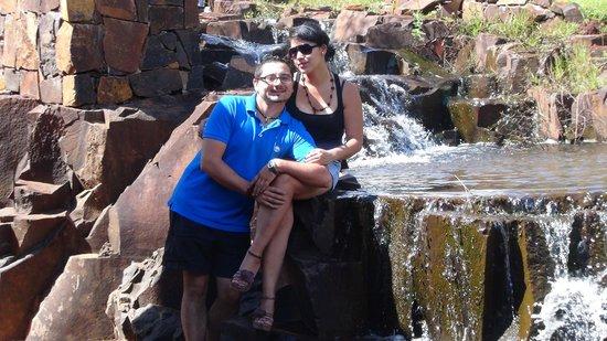 Iguazu Jungle Lodge: Cascada