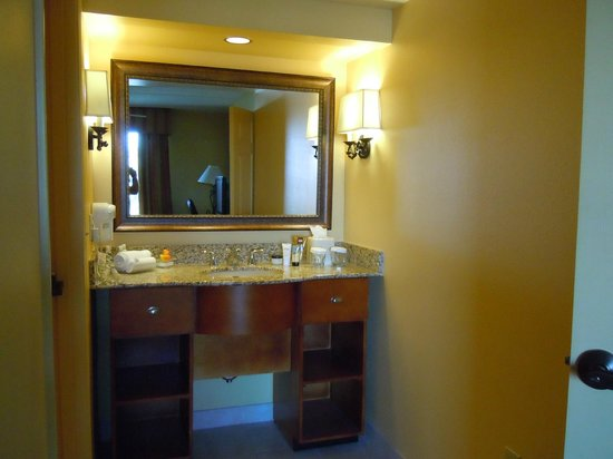 Homewood Suites by Hilton Phoenix-Metro Center: Ample vanity area with great bath amenitites