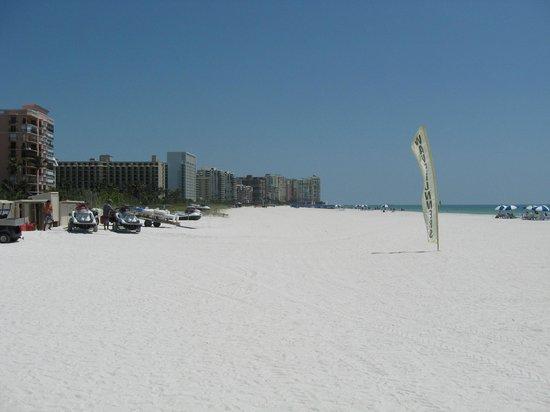 Marco Beach Ocean Resort: Looking south