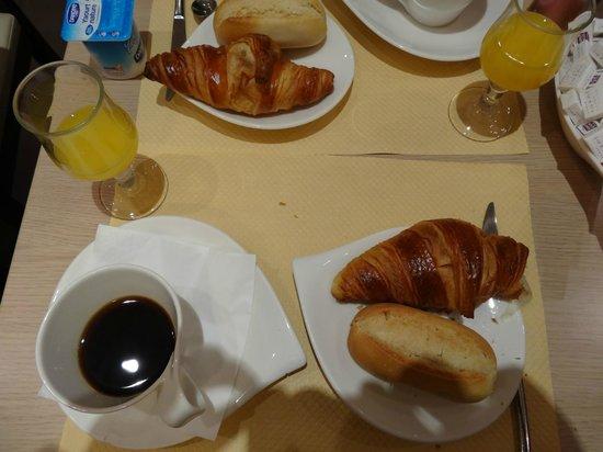 Hotel Palym: breakfast