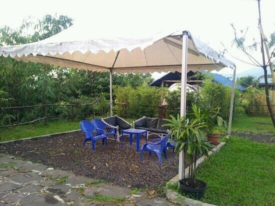 Sari Ater Hotel: Outdoor camp