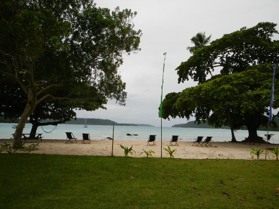 Velit Bay : view from the restaurant & bar