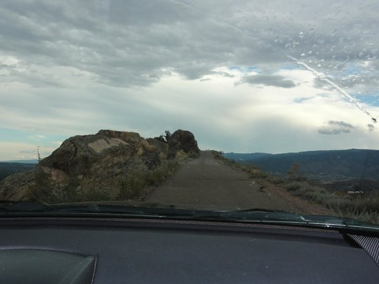 Skyline Drive: Road on the edge