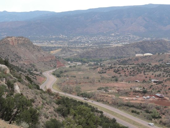 Skyline Drive: Canon City below