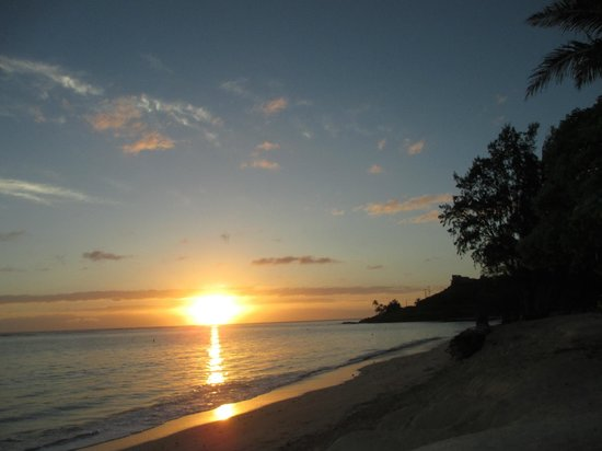 Papaya Paradise Bed and Breakfast : Catch a spectacular sunrise 2 mins away