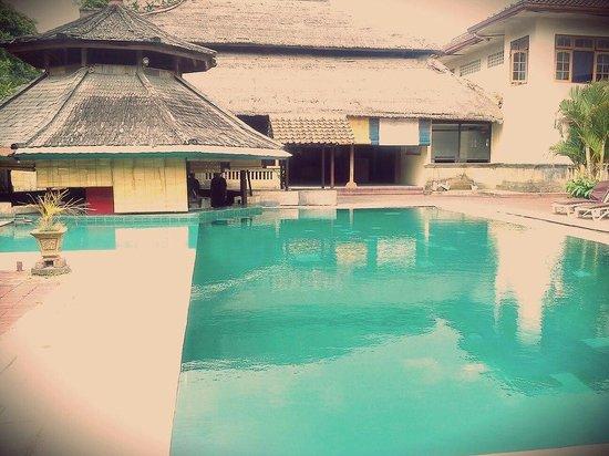 Champlung Mas Hotel: bad