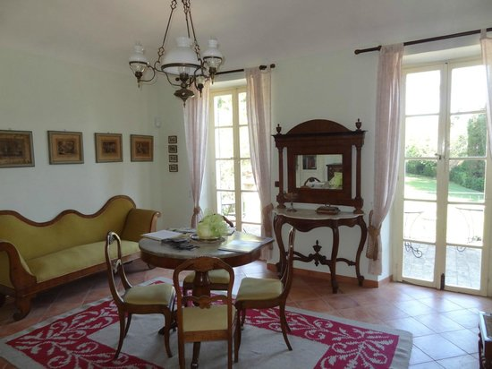 Villa dei Priori: Sala comune