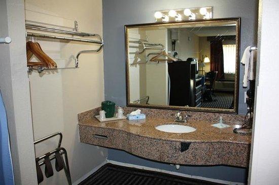 Rodeway Inn: nice wash basin