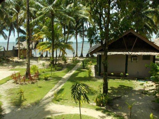 Eddie's Beach Resort Siargao : Blick zum Ocean