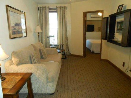 Boulder Dam Hotel: Living Room