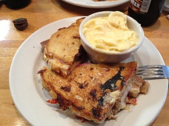 Hatch Sandwich Bar : awesome pork belly Cuban sandwich