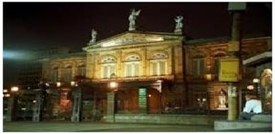 SBR Costa Rica Tours: Teatro Nacional en San Jose