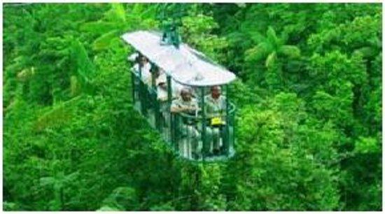SBR Costa Rica Tours: Teleferico del Parque Nacional Braulio Carrillo