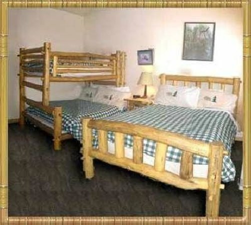 Gateway Inn: Bunk beds. Very sturdy and comfy!