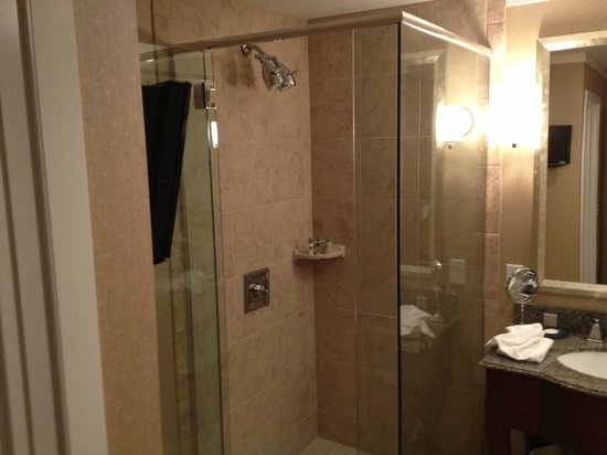 Surfsand Resort: Dual-head shower