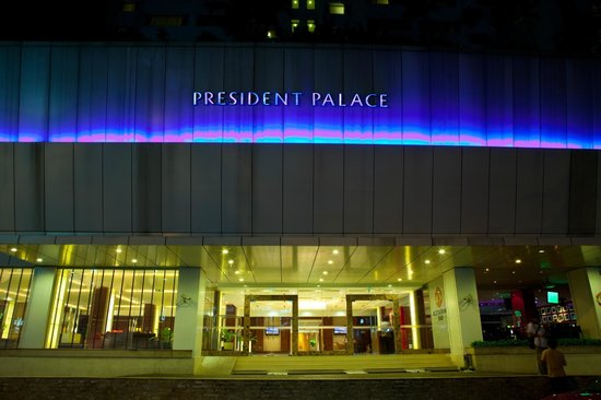 President Palace Hotel : Hotel Exterior