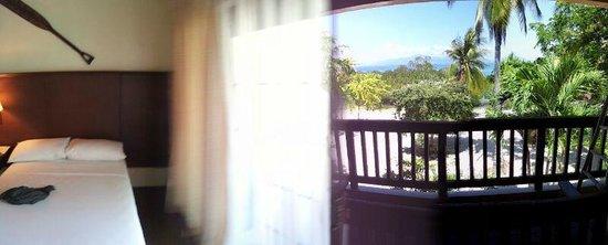 Dos Palmas Island Resort & Spa: panoramic view of room