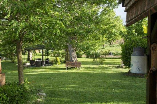 Chambres d'hotes La Plaine : jardin