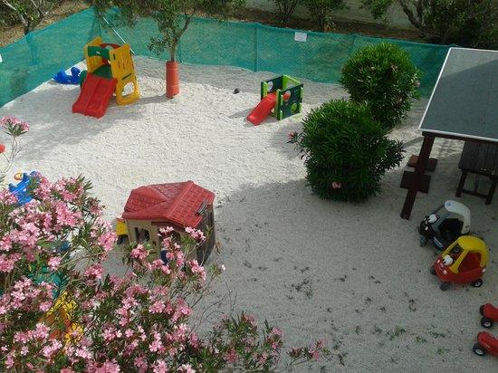 Lofos Apartments: playground