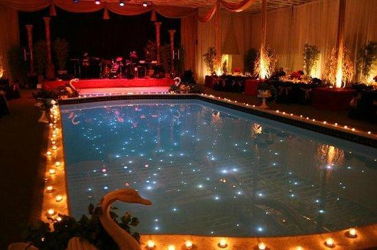 ballroom at hartland mansion indoor pool