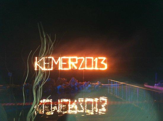 Club Med Kemer: soirée élégante