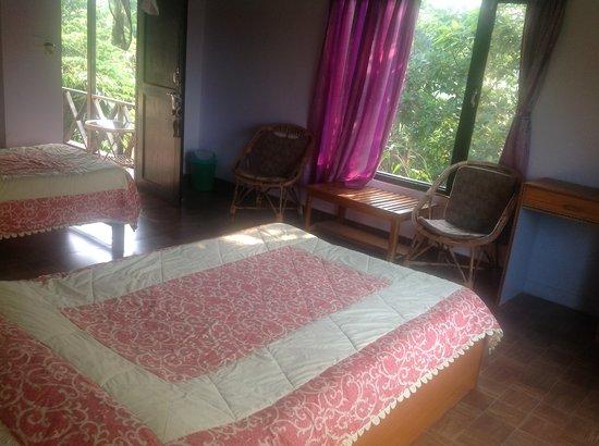 Hotel Parkside: Bed