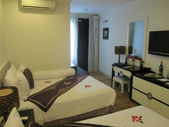 Hanoi Meracus Hotel 1: Super comfortable beds...