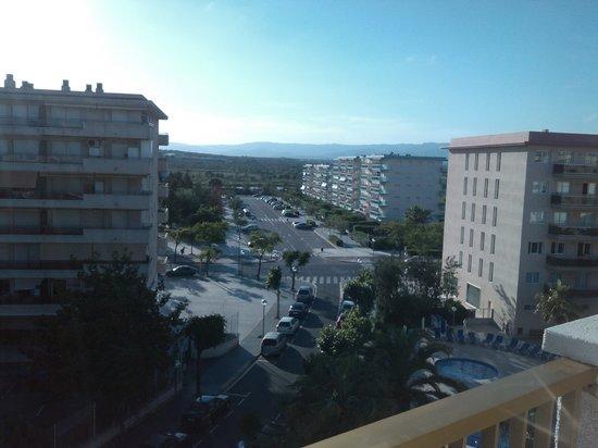 Apartamentos Pineda Park: Вид с балкона