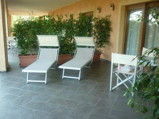 Hotel Cannamele Resort : Terrasse de la chambre