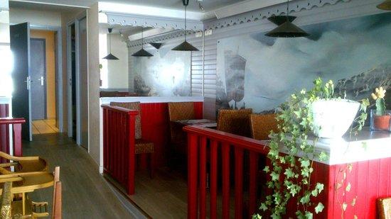 Cap Nord : une des salles du restaurant