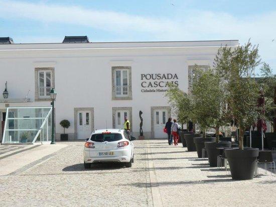 Pestana Cidadela Cascais: Front entrance to hotel