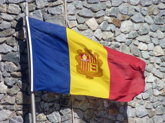Casa de la Vall : bandierra di Andorra