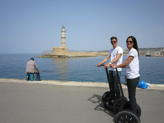 Chania Segway Tours: The Lighthouse - Old Port  Chania