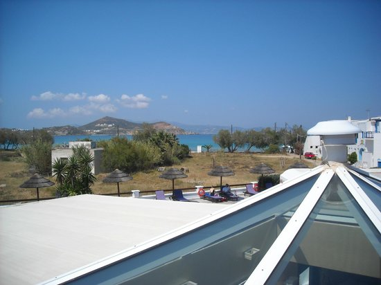 Naxos Resort Beach Hotel: Beach view