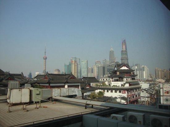 Ibis Shanghai Yu Garden: vue de la chambre