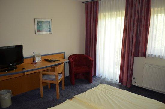 Hotel Herzog Heinrich: Zimmer mit Balkon