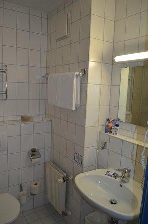 Hotel Herzog Heinrich: Bad mit Dusche und WC