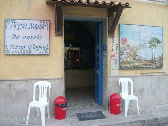 Pizzeria Napulè: Esterno!