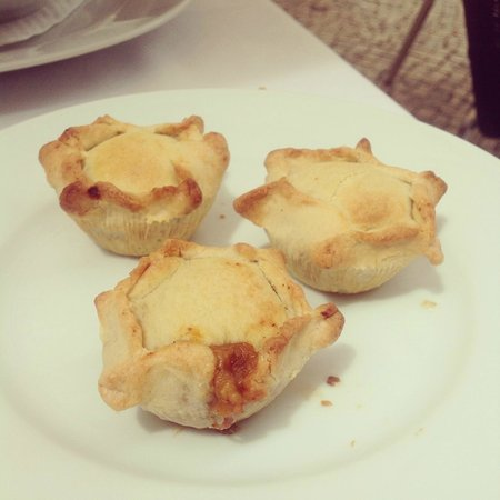 Restaurante MOMA : Empadas de jabali (petits pâtés au sanglier)